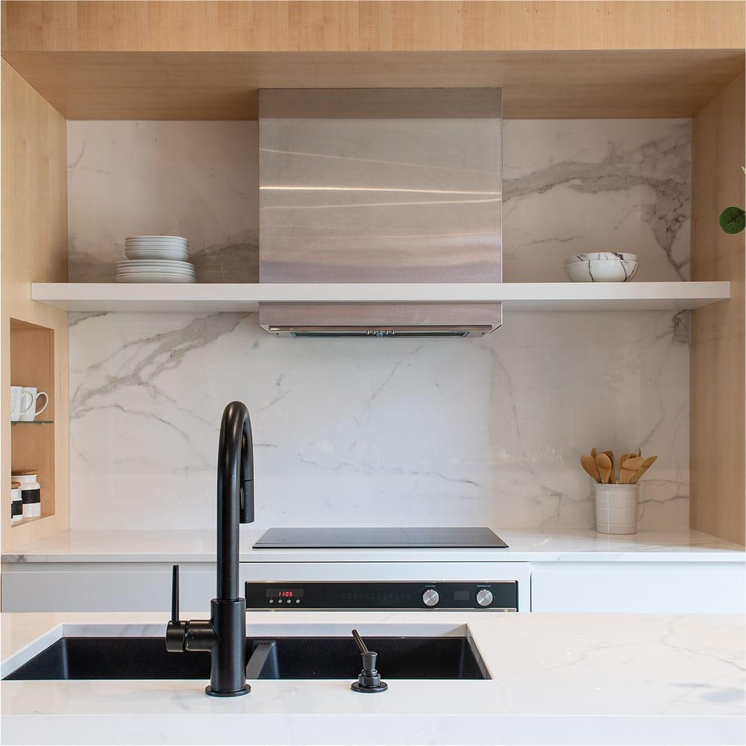 Chambord Project | Kitchen island renovation, single family home – Capital 6