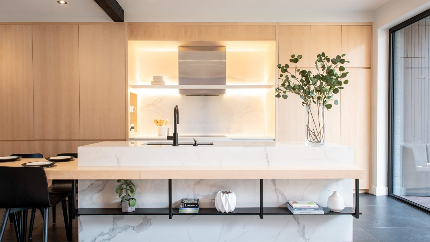 Chambord Project | Kitchen and dining room renovation – Capital 6