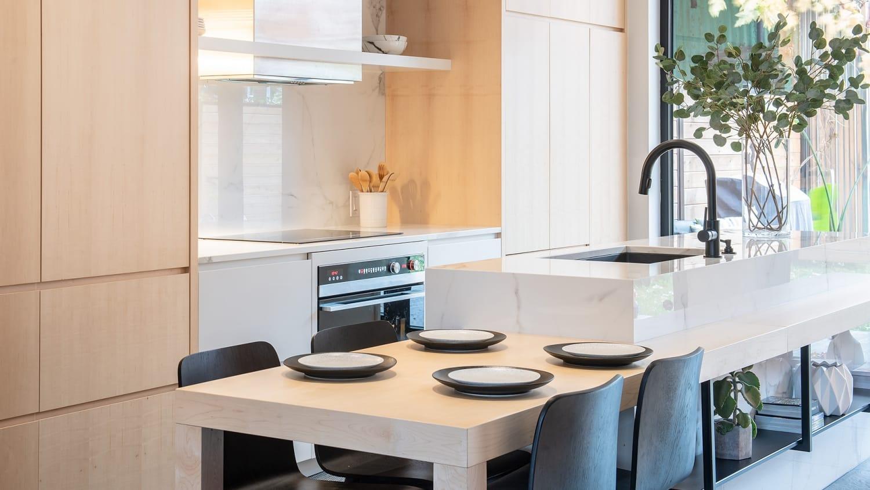 Chambord Project | Kitchen renovation, single family home – Capital 6