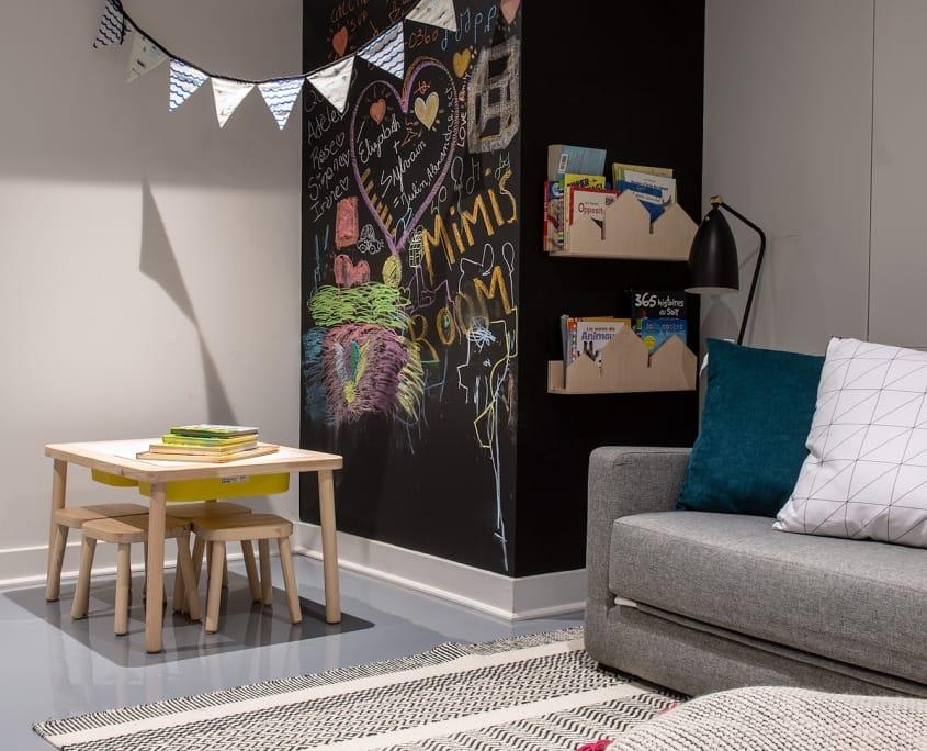 Chambord Project | Renovation, single family home basement – Projects – Capital 6