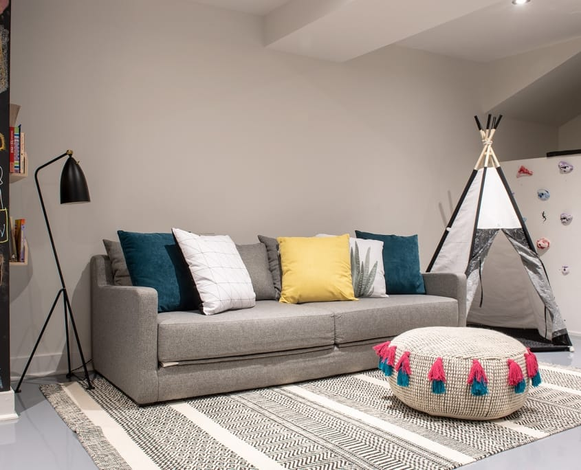 Chambord Project | Renovation, single family home basement and common area – Capital 6