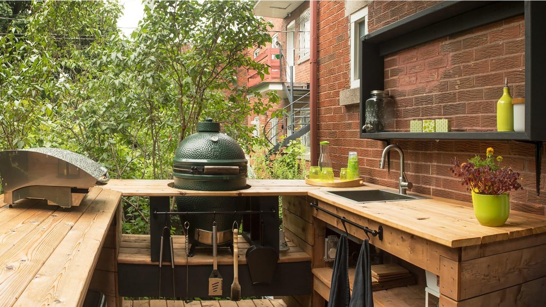 Projet Grande-Allée | Aménagement d'une terrasse extérieure – Réalisations – Capital 6