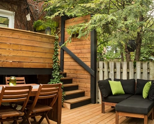 Grande-Allée Project | Redesign of outdoor patio – Projects – Capital 6