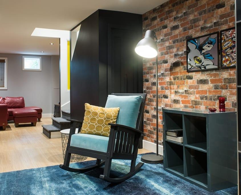 Projet Grande-Allée | Rénovation d'un sous-sol – Réalisations – Capital 6