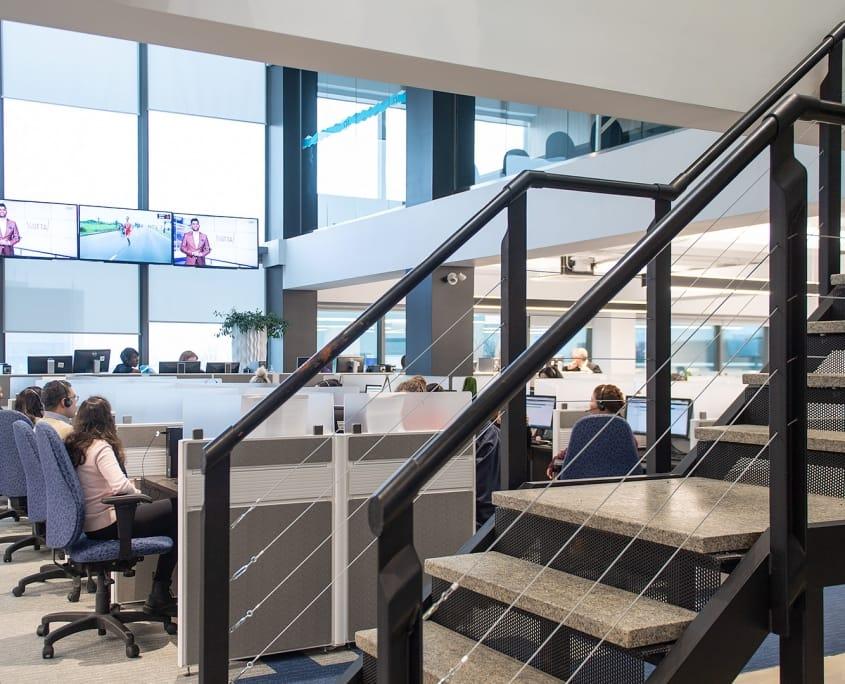 Projet Sorel | Bureaux aire ouverte – Construction commerciale – Réalisations – Capital 6