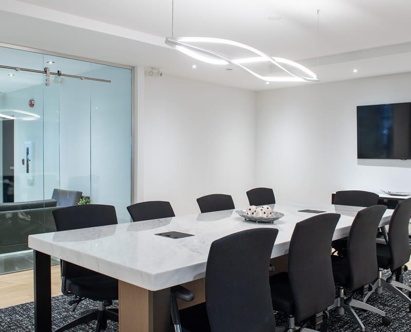 Projet Sorel | Salle de réunion – Construction commerciale – Réalisations – Capital 6